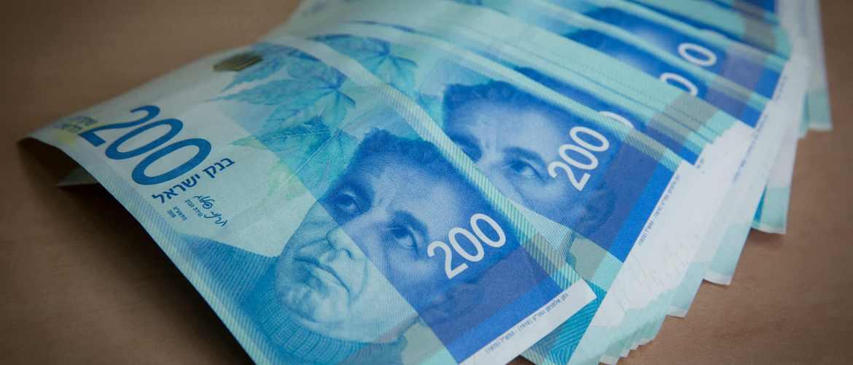 Счет в банке Израиля