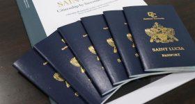 Паспорт Сент-Люсии